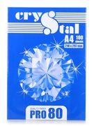 Папір офісний білий А4, 100 аркушів, клас С, щільність 80 г/м2 Crystal Pro