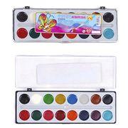 Акварельні фарби 16 кольорів, пластикова упаковка Тетрада ТЕ10398