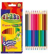 Олівці кольорові 2-х сторонні 12 кольорів PREMIUM Class 1612/24 01152640