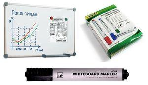 Маркер для дошки 4Office 4-105 чорний 1-3 мм(12) 01170209