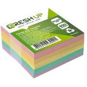 Папір для нотаток не клеєний кольоровий блок Fresh Up 400 аркушів 85х85 мм FR-3211