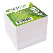 Папір для нотаток не клеєний білий блок Fresh Up 900 аркушів 90х90 мм FR-1611