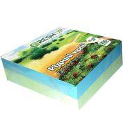 Папір для нотаток 85х85 мм 200 аркушів проклеєний кольоровий мікс Рідний край Fresh Up FR-0550