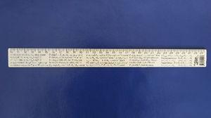 Лінійка 30 см основні фізичні постійні та формули (100)