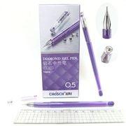 Ручка гелева фиолетовая 0.5 мм Chosch Josen Otten CS-821