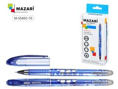Ручка гельова MAZARI  ST 5540C-70 пиши-стирай синя (24/144)