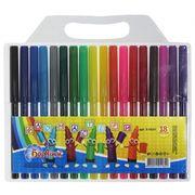 Фломастери 18 кольорів Веселка 5-103 01120940 Барвінок