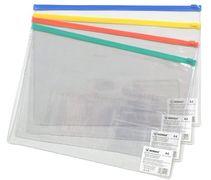 папка на блискавці, А4, 200мкн.PVC, 5015,  NORMA 03030570 (24/240/960)