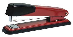 степлер метал., 24/6-26/6, 20арк, 90мм, черв., 4124, Norma 04020981 (1/12/72)