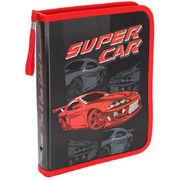 Папка на блискавці об'ємна,  Super Car, 30*190*250 мм, PP, 5630C , Class 13070510 (1/60/240)