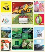 Зошит в лінію 48 аркушів кольорова обкладинка, дизайн: Мікс 48ЛВ1 Тетрада ТЕ52512
