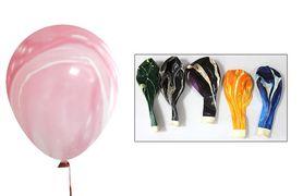 Куля повітряна 30см мармур 991996 різні кольори мікс  (100)