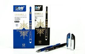 Ручка гельова Joyko пиши-стирай GP-3176 0.5mm ЧОРНА (12)