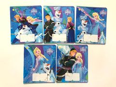 Зошит в клітинку 12 аркушів кольорова обкладинка, дизайн: Disney Frozen. Best Тетрада ТЕ11902