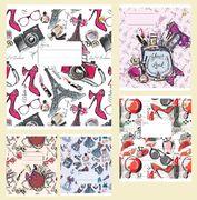 Зошит в лінію 24 аркушів кольорова обкладинка, дизайн: Дівоча Тетрада ТЕ02380