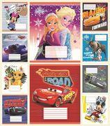 Зошит в клітинку 24 аркушів кольорова обкладинка, дизайн: Disney Мікс 1 Тетрада ТЕ12337
