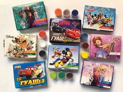 Гуаш 12 кольорів (10 мл) 140 гр Disney Тетрада ТЕ12113
