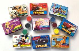 Гуаш 6 кольорів (10 мл) 70 гр Disney Тетрада ТЕ12095