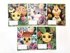 Зошит в клітинку 12 аркушів кольорова обкладинка, дизайн: Disney Герої Діснея-1 Тетрада ТЕ11985