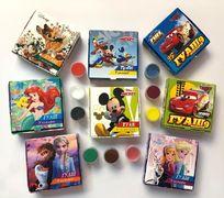 Гуаш 9 кольорів (10 мл) 110 гр Disney Тетрада ТЕ12104