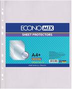 Файл А4+ прозорий Economix 30мкм Е31102 Crystal (2000)