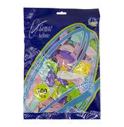 Шар воздушный пастель 25 см разные цвета микс 100 шт в упаковке