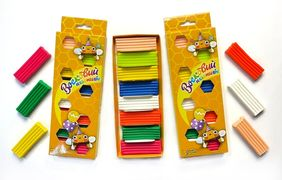 Пластилін 8 кольорів 130 грам Восковий з європідвісом Тетрада ТЕ12998