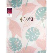Папка з затиском A4, Forest, 3D пластик, рожева 1311-10-A (1)