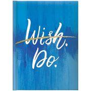 Щоденник датований 2022 А5, 336 сторінок, лінія, тверда обкладинка Стандарт Графо Wish.Do 73-795 68 152 Brunnen