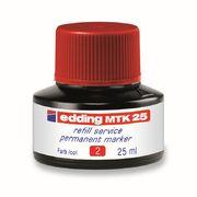 Чорнило для заправки Permanent e-MTK25 червоне e-MTK25/02 (1)