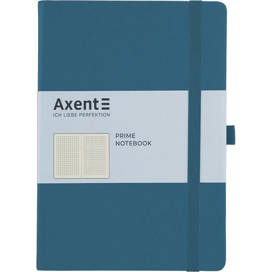 Записна книжка А5, 96 сторінок, клітинка, тверда обкладинка Partner Prime 8305-47-A Axent