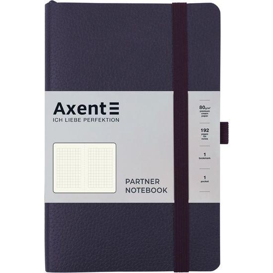 Записна книжка А5, 96 сторінок, клітинка, м`яка обкладинка Partner Soft Skin 8616-02-A Axent