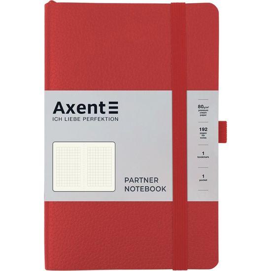 Записна книжка А5, 96 сторінок, клітинка, м`яка обкладинка Partner Soft Skin 8616-06-A Axent
