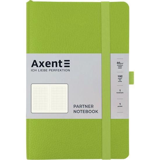 Записна книжка А5, 96 сторінок, клітинка, м`яка обкладинка Partner Soft Skin 8616-09-A Axent