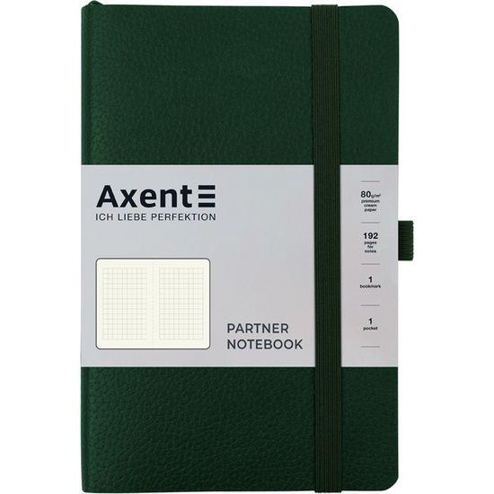 Записна книжка А5, 96 сторінок, клітинка, м`яка обкладинка Partner Soft Skin 8616-23-A Axent