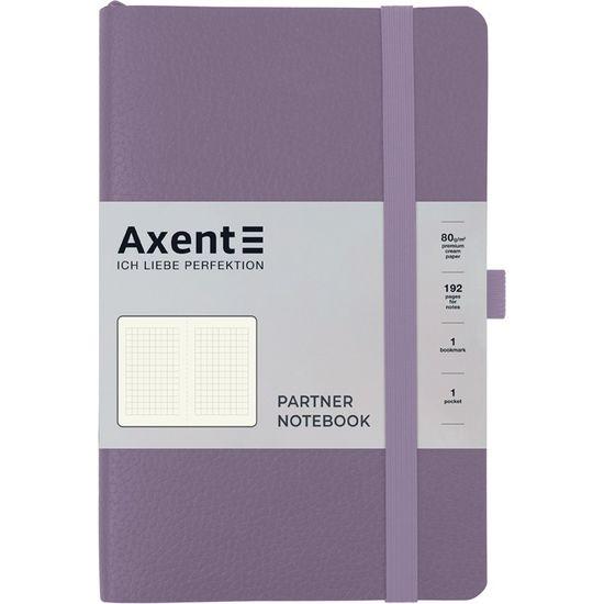 Записна книжка А5, 96 сторінок, клітинка, м`яка обкладинка Partner Soft Skin 8616-36-A Axent