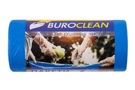 Пакети для сміття  60л/20 шт, міцні, сині  600х800мм, 21мкм BuroClean EuroStandart 10200033 (1/20)