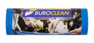 Пакети для сміття  120л/10 шт, міцні, сині  700х1050мм, 22мкм BuroClean EuroStandart 10200043 (1/30)