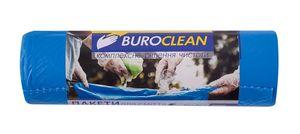 Пакети для сміття  160л/10 шт, міцні, сині  900х1200мм, 24мкм BuroClean EuroStandart 10200053 (1/18)