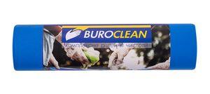 Пакети для сміття  240л/5 шт, міцні, сині, 900х1300мм, 35мкм BuroClean EuroStandart 10200061 (1/21)