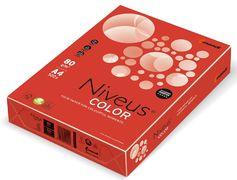 Папір кол.насичений, А4/80, 500арк., CO44, червоний A4.80.NVI.CO44.500 (1/5)