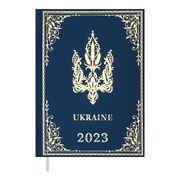 Щоденник датов. 2021 UKRAINE, A5, блакитний BM.2128-14 (1/10)