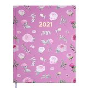 Щоденник датов. 2021 PROVENCE, A5, рожевий BM.2161-10 (1/10)
