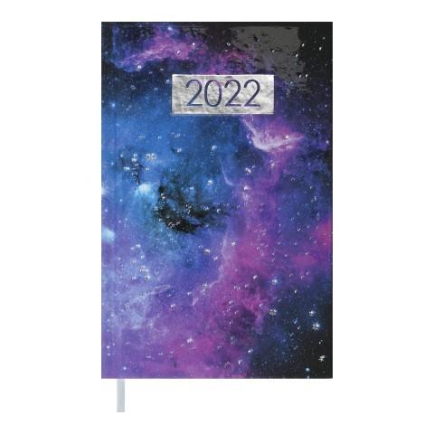 Щоденник датований 2022 А6, 336 сторінок, лінія, тверда обкладинка MIRACLE BM.2542-07 Buromax