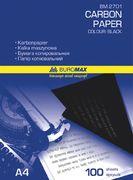 Папір копіювальний 210x297мм, 100 арк., чорний BM.2701 (1/5/50/210)