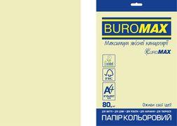 Папір кольоровий Euromax 80г/м2, PASTEL, бежевий, 20арк. BM.2721220E-28 (1/100)