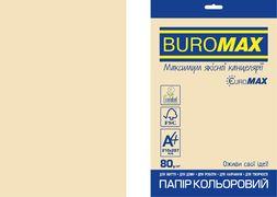 Папір кольоровий Euromax 80г/м2, PASTEL, кремовий, 20арк. BM.2721220E-49 (1/100)