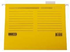 Файл підвісний А4 з індексами, картон, жовтий BM.3350-08 (1/10/200/7)
