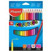 Олівці кольорові COLOR PEPS Classic, 18 кольорів MP.183218 (1/12/108)