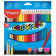 Олівці кольорові COLOR PEPS Classic, 24 кольорів MP.183224 (1/12/72)